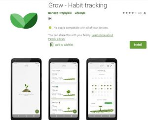 Grow Habit Tracking