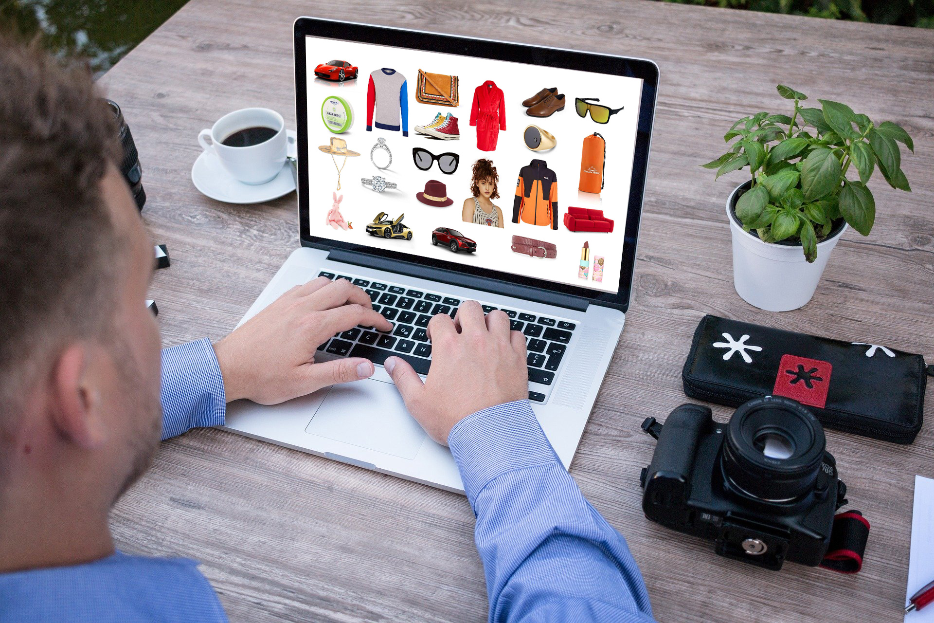 Clothing Items for Online Business