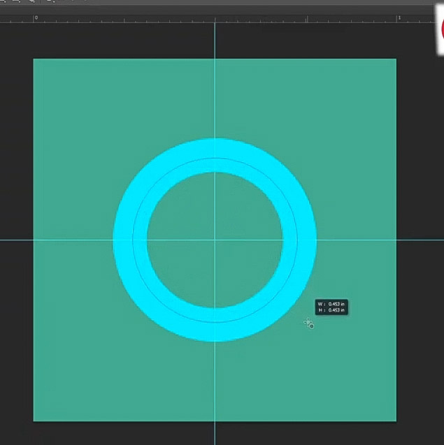 how to curve text-draw the second circle
