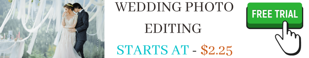 wedding photo editing services free trail