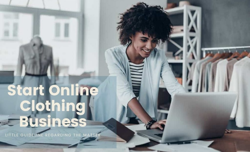 online clothing business