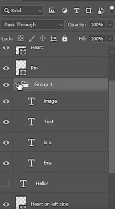 enable all layers of group