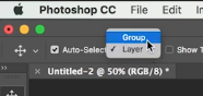 enable group option