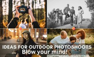 ideas for outdoor photoshoots
