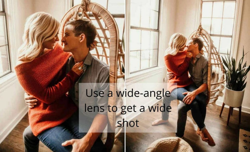 wide angle shots