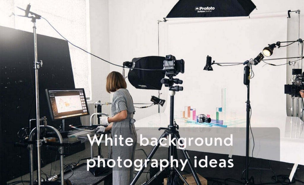 best ways on taking pictures with white background