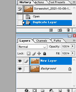 Clone Stamp Tool - start with a new layer