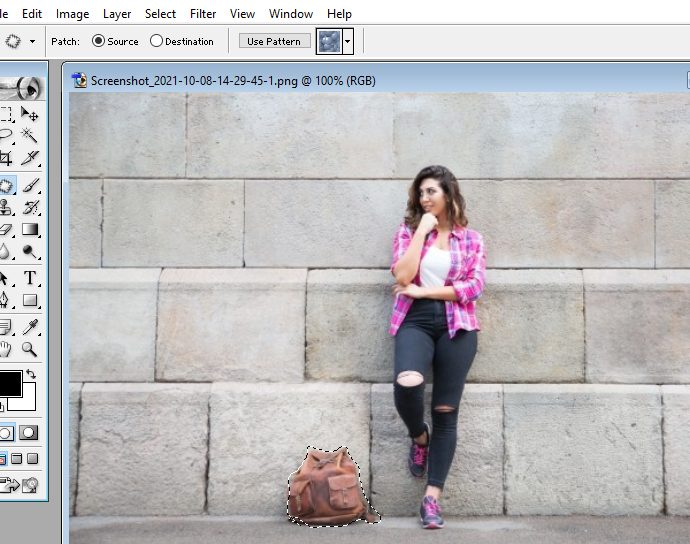 How to create a selection in photoshop