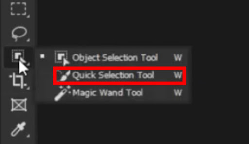 Quick Selection tool