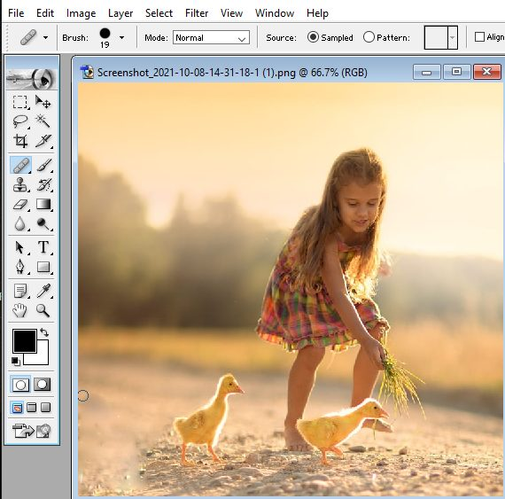 how to save the image in photoshop