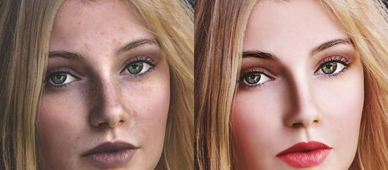 High End Glamour Retouch